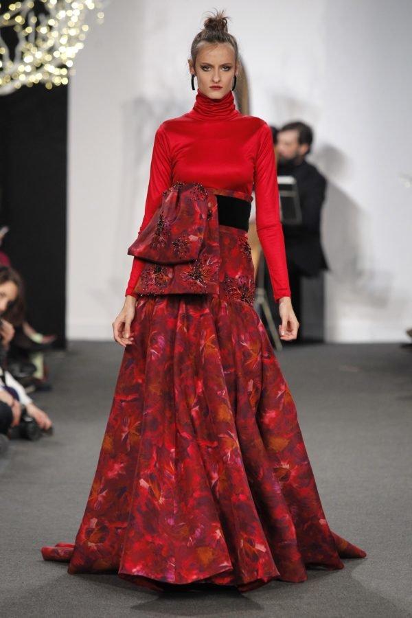 vestidos-de-invitada-de-boda-para-otoño-invierno-rojo