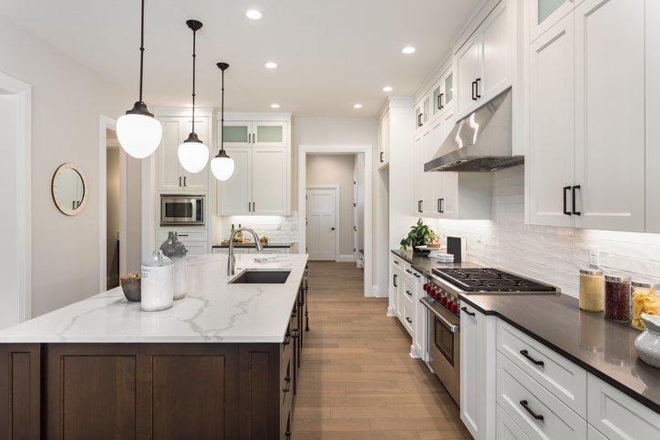 50 fotos de cocinas americanas 2019 ideas para decorar - Decoracion de cocinas americanas ...
