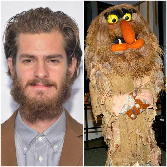 famosos-parecidos-muppets-adrew-garfield
