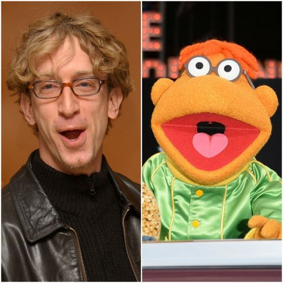 famosos-parecidos-muppets-andy-dick
