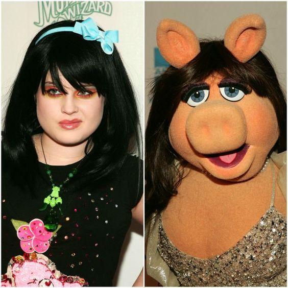famosos-parecidos-muppets-kelly-osborne