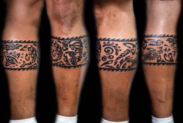 tatuajes-maori-brazaletes-pierna