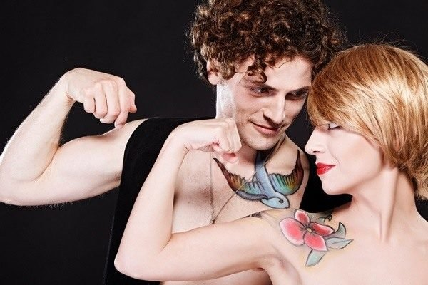 Tatuajes para parejas pajaros.