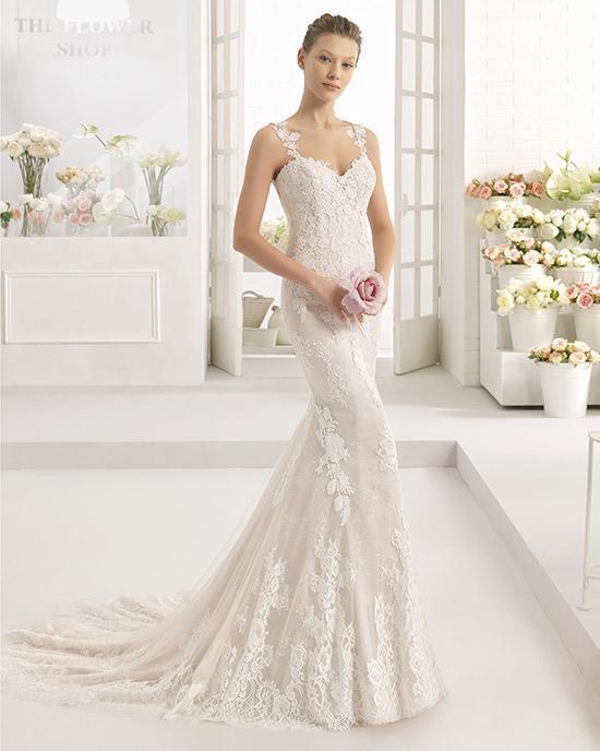 vestidos de novia de el corte inglés 2019 - tendenzias