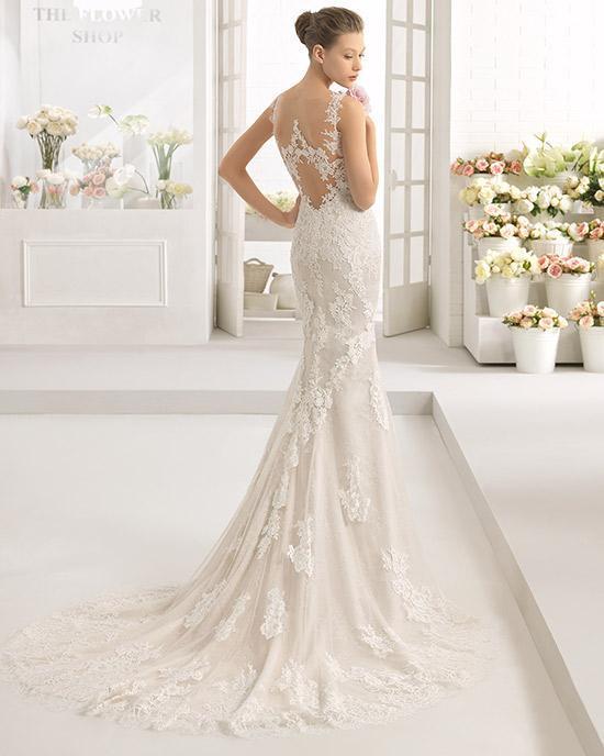 Vestidos de novia romanticos de encaje