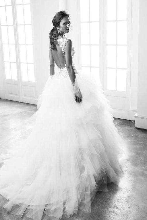Resultado de imagen de Vestidos de novia y tul