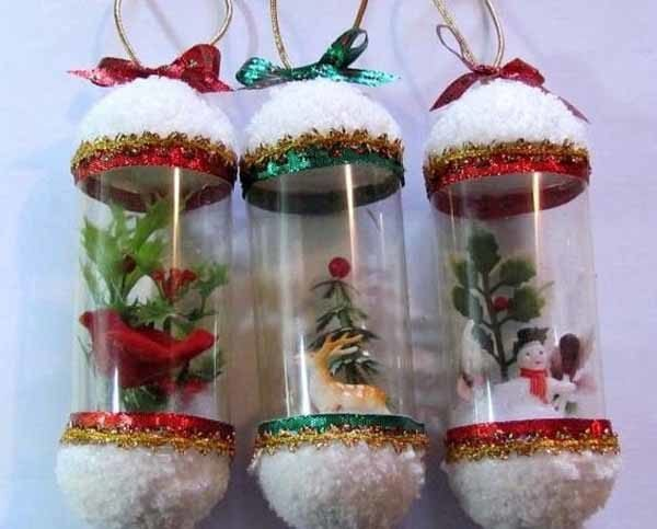 De 250 Fotos Decoracion Navidad 2018 Decoracion Navidena - Decoraciones-de-navidad-manualidades