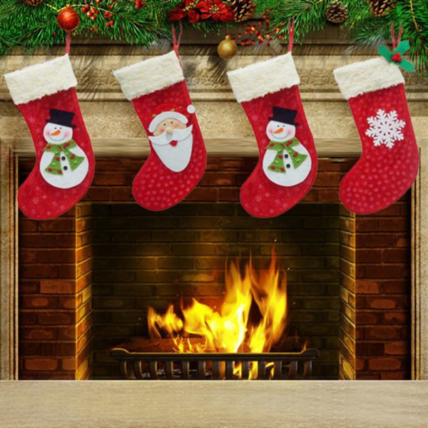 De 70 Fotos De Calcetines De Navidad 2018 Para