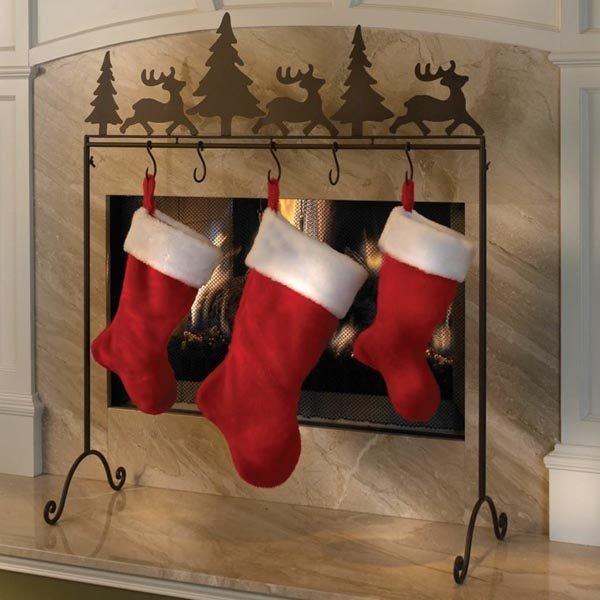 calcetines-de-navidad-en-el-salon
