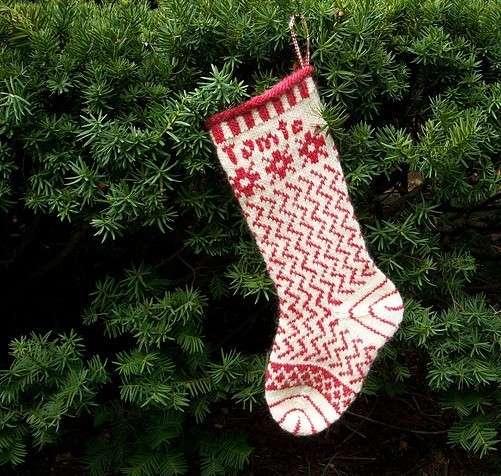 De 70 fotos de calcetines de navidad 2018 para - Como hacer calcetines de punto ...