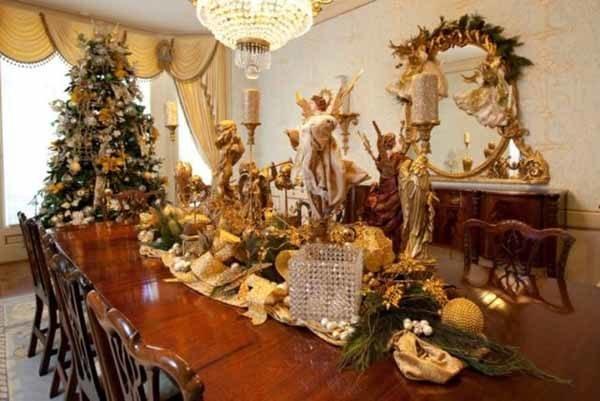 centros-de-mesa-navidenos-angeles-velas