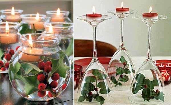 centros-de-mesa-navidenos-flores-flotantes