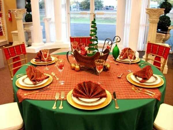centros-de-mesa-navidenos-trineo