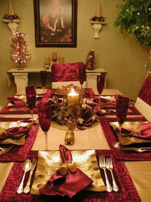 centros-de-mesa-navidenos-vela-dorada