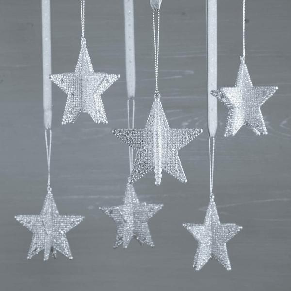 Plantillas Estrellas Para Decorar.50 Ideas De Estrellas De Navidad Y Como Hacerlas