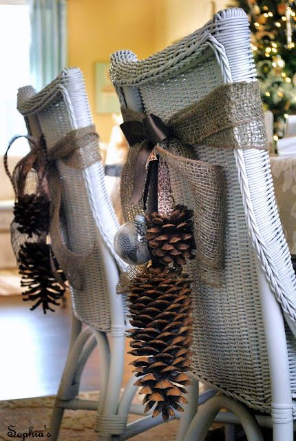 lazos-de-navidad-sillas-rustico