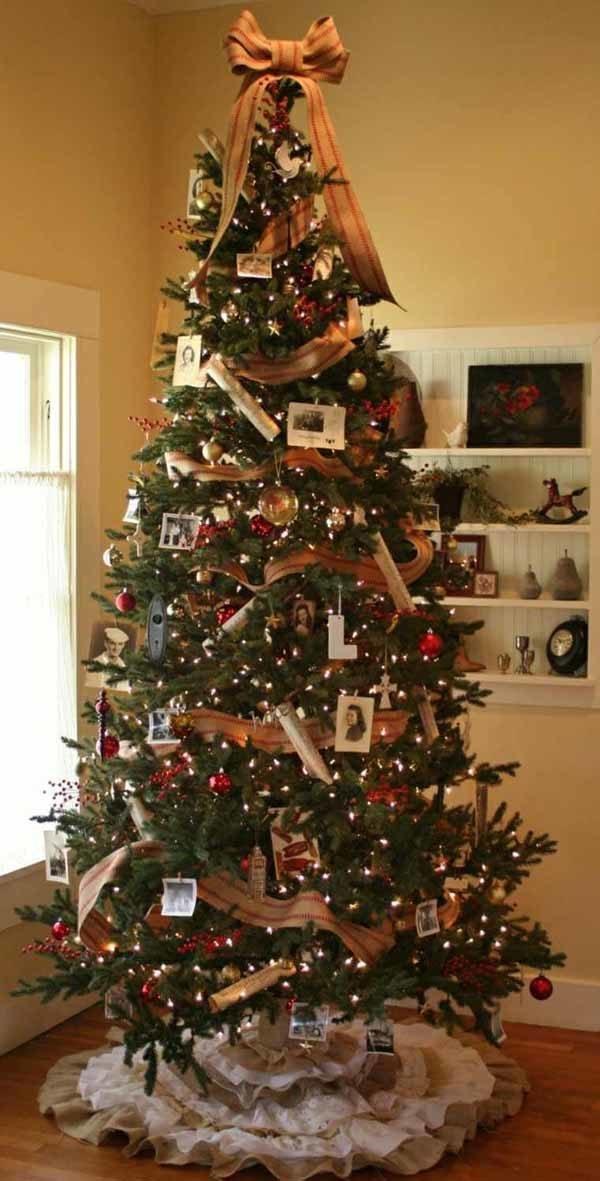 e20a76255b059 50+ Fotos con ideas de lazos de Navidad  Cómo hacer lazos de Navidad ...