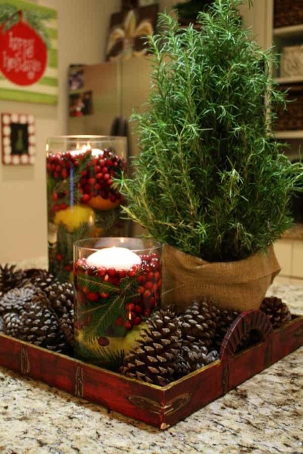velas-de-navidad-flotante-roja