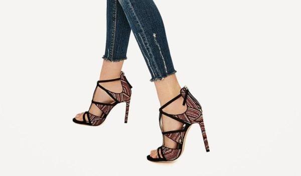última selección de 2019 moderno y elegante en moda precio competitivo Las sandalias de Zara para 2020 - Tendenzias.com