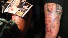 Tatuajes de rostros famosos