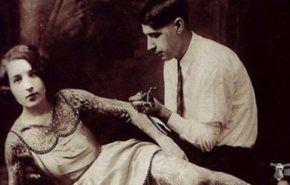 Mujeres tatuadas años 20, 30 y 40