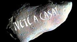 Cómo desviar un asteroide asesino con pintura en aerosol