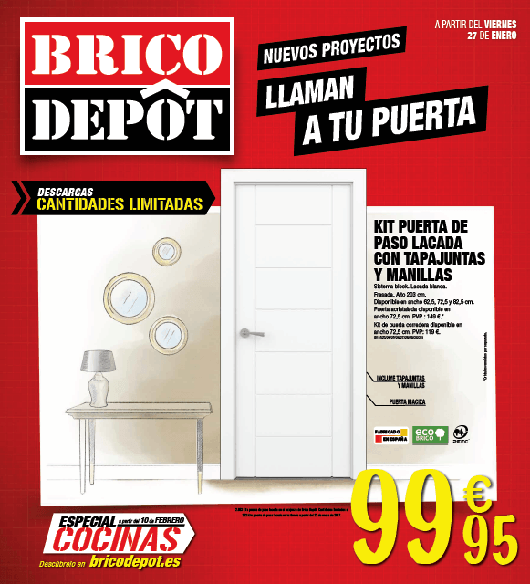 Cat logo brico depot ofertas black friday y noviembre - Catalogo de bricomart 2016 ...