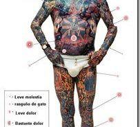 El dolor en los tatuajes