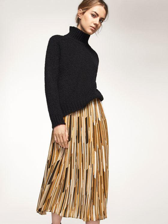 rebajas-massimo-dutti-moda-mujer-falda-plisada