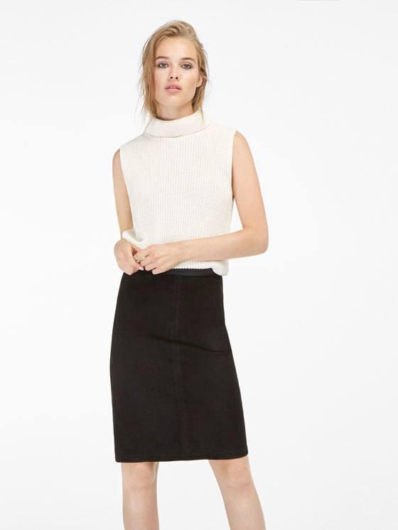 rebajas-massimo-dutti-moda-mujer-falda-stretch