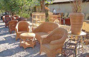 Muebles de mimbre, mantenimiento
