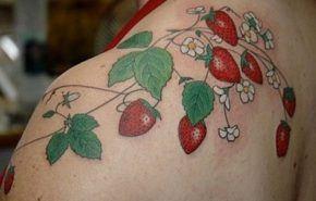 Los tatuajes de frutas