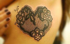 Tatuajes de encaje