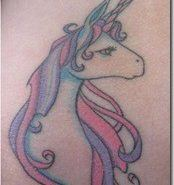 Tatuajes de unicornios