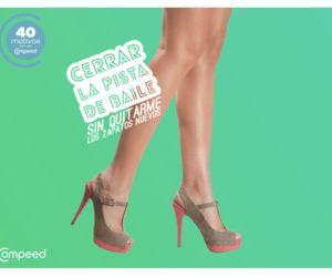 Compeed regala 40 pares de zapatos