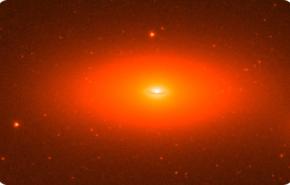 Agujero negro monstruoso dentro de galaxia pequeña