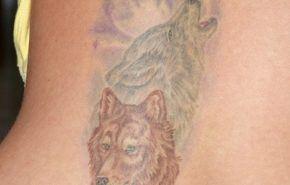 Tatuaje de animales: el lobo