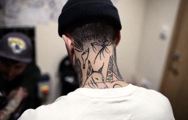 Tatuajes En El Cuello 2019 Tendenziascom