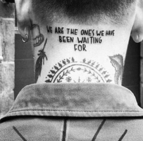 Tatuajes En El Cuello 2019 Tendenzias Com