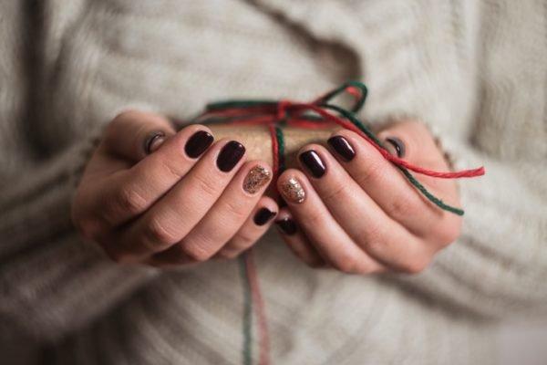 Unas navidenas elegantes oscuras