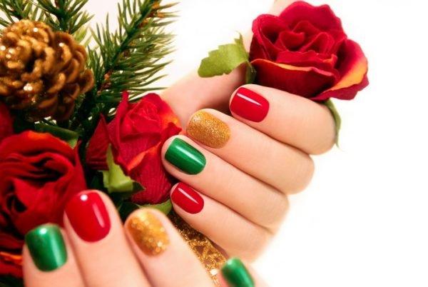Unas navidenas sencillas y faciles de hacer de colores