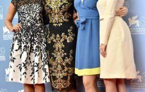 Selena Gomez y Vanessa Hudgens glamurosas en Venecia