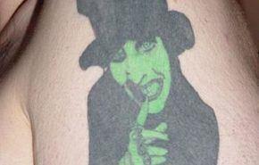 Tatuaje de Marilyn Manson