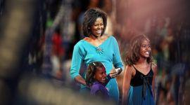 Michelle Obama, entre las diez mujeres mejor vestidas