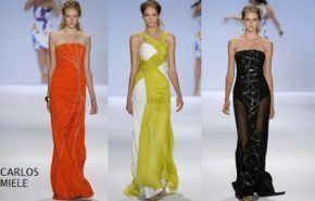 Vestidos fiesta New York Fashion Week
