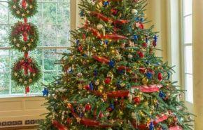 Árboles de Navidad 2017 decorados, originales y caseros | Tendencias