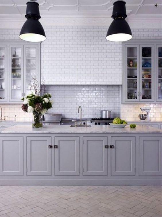 Más de 40 fotos con ideas de cocinas grises - Tendenzias.com