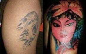 Como cubrir tatuajes