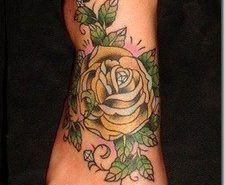 Tatuajes en el Pie – Fotos de tatuajes para mujeres en el pie