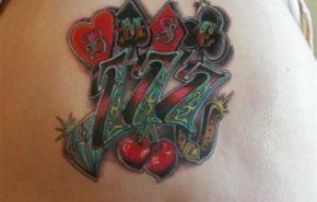 Tatuajes de números capicúas